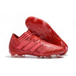 Tacchetti da Calcio Adidas Nemeziz Messi 17.1 FG Uomo Rosso Rosa