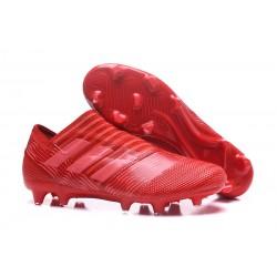Adidas Nemeziz 17+ 360 Agility FG - Scarpe Da Calcio Uomo Rosso Rosa