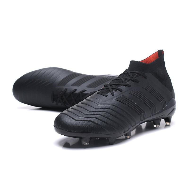 2018 Scarpe Da Calcio Adidas Predator 18.1 FG Tutto Nero