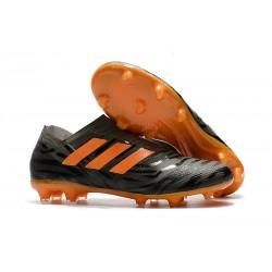Adidas Nemeziz 17+ 360 Agility FG - Scarpe Da Calcio Uomo Nero Arancione