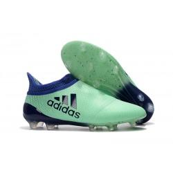 Adidas X 17+ Purespeed FG Tacchetti da Calcio - Uomo Verde Unity Ink Verde Hi-Res