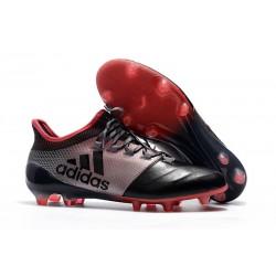 Nuovo Scarpe Da Calcio - Adidas X 17.1 FG Rosa Nero