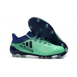 Tacchetti da Calcio Adidas X 17.1 FG Uomo Verde Unity Ink Verde Hi-Res
