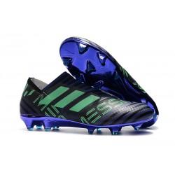 Adidas Nemeziz 17+ 360 Agility FG - Scarpe Da Calcio Uomo Unity Ink Verde Hi-Res Nero