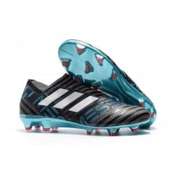 Adidas Nemeziz 17+ 360 Agility FG - Scarpe Da Calcio Uomo Grigio Bianco Nero