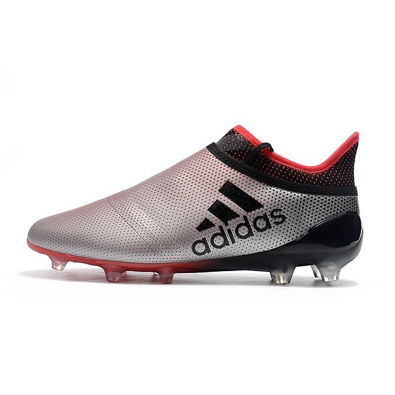 Scarpe da Calcio Adidas X 17+ Purespeed FG Uomo Argenteo