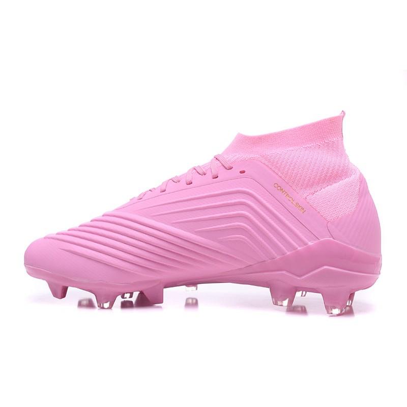 huge selection of 01fbd e272d Rosa Da Adidas 2018 Fg 18 1 Scarpe Predator Calcio zOn74qx