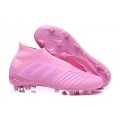 Adidas Predator 18+ FG - Tacchetti da Calcio Rosa