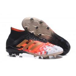 2018 Scarpe Da Calcio Adidas Predator Telstar 18.1 FG Core Black Metallic Copper
