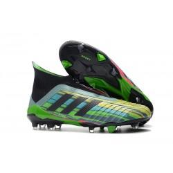Scarpe calcio adidas Predator 18+ FG Couleurs Verde Nero Giallo