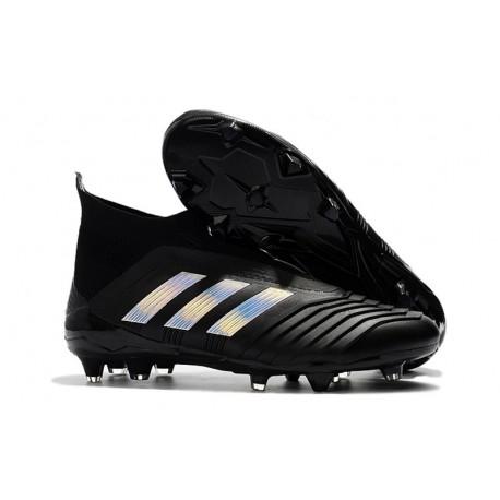 Adidas Paul Pogba Predator 18+ FG 2018 Scarpe da Calcio Argento Nero