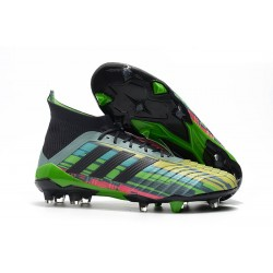 2018 Scarpe Da Calcio Adidas Predator Telstar 18.1 FG Core Black Metallic Copper