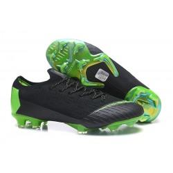Scarpe da Calcio CR7 Nike Mercurial 2018 Vapor XII 360 Elite FG Nero Verde
