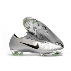 Nuove Scarpe da Calcio Nike Mercurial Vapor XII 360 Elite FG - Argento Nero