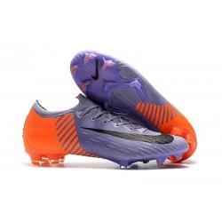 Scarpa da Calcio Nike Mercurial Vapor XII 360 Elite FG Viola Arancione Nero