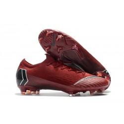 Tacchetti da Calcio Nike Mercurial Vapor XII 360 Elite FG Rosso Nero