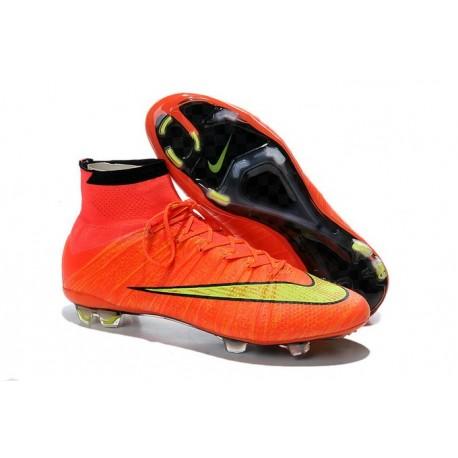 Scarpa da calcio per terreni duri Nike Mercurial Superfly - Arancione Oro Nero