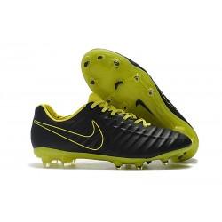 Nike Tiempo Legend 7 FG Scarpe da calcio Uomo Nero Giallo