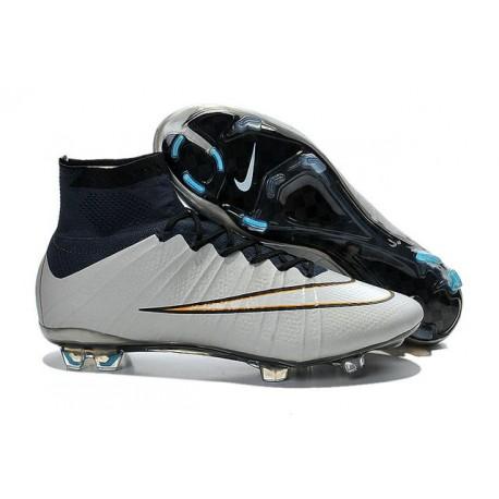 Nuove Scarpe calcio Nike Mercurial Superfly FG - Argenteo Arancione Nero