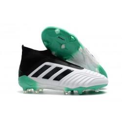 Adidas Predator 18+ FG - Tacchetti da Calcio Bianco Verde
