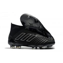 Adidas Predator 18+ FG - Tacchetti da Calcio Tutto Nero