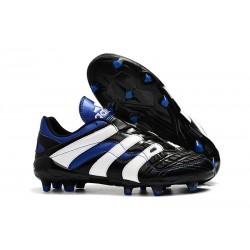 Tacchetti da Calcio Adidas Predator Accelerator Electricity FG Nero Bianco Blu