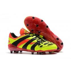 Tacchetti da Calcio Adidas Predator Accelerator Electricity FG Giallo Rosso Nero