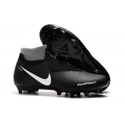 Scarpe Per Gli Uomini Nike Phantom Vision Elite DF FG Nero Rosso Bianco