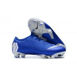 Tacchetti da Calcio Nike Mercurial Vapor XII 360 Elite FG Blu Argento