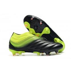 Tacchetti da Calcio Adidas Copa 19+ FG Core Nero Giallo Solare