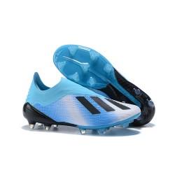 Scarpe da Calcio adidas X 18+ FG Blu Nero