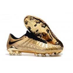 Neymar Scarpe da Calcio Nike Hypervenom Phantom 3 FG Oro Nero