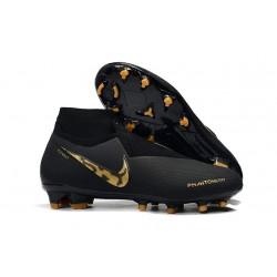 Scarpe Per Gli Uomini Nike Phantom Vision Elite DF FG Black Lux
