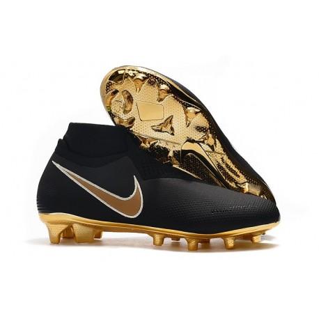 Scarpe Per Gli Uomini Nike Phantom Vision Elite DF FG Nero Oro