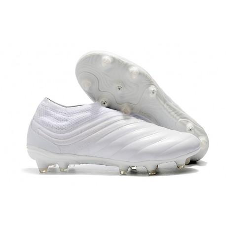 Tacchetti da Calcio Adidas Copa 19+ FG Bianco