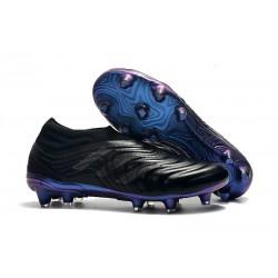 Scarpe Da Calcio Adidas Copa 19+ FG Nero Blu