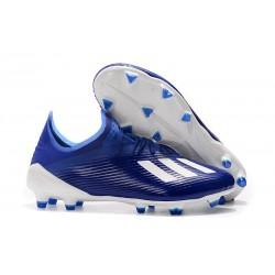 Scarpa da Calcio adidas X 19.1 FG Uomo Blu Bianco