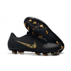 Scarpa Nuovo Nike Phantom Vnm Elite FG Nero Oro