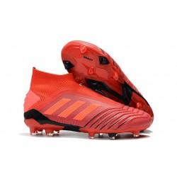 Scarpa da Calcio Nuovo adidas Predator 19+ FG Rosso